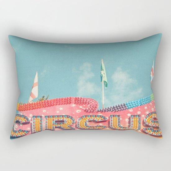 Circus Lights Rectangular Pillow