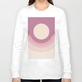 Lilac Rainbow Canyon Long Sleeve T-shirt