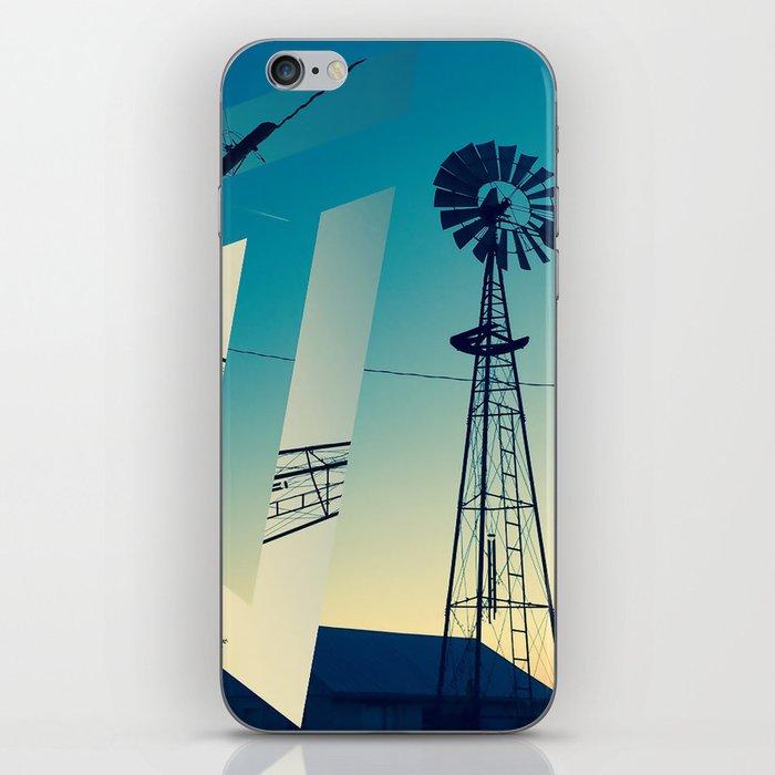 Sunset Farm iPhone Skin
