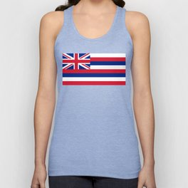 State flag of Hawaii Unisex Tank Top