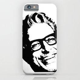 Jeff Goldblum' Smiling Perfect Face iPhone Case