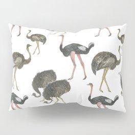 Ostrich pattern Pillow Sham