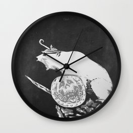 The Ursus Maritimus Vikingus Wall Clock