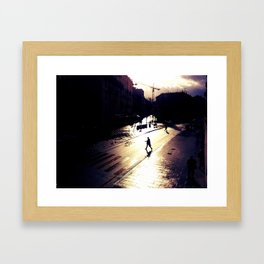 After the rain Framed Art Print