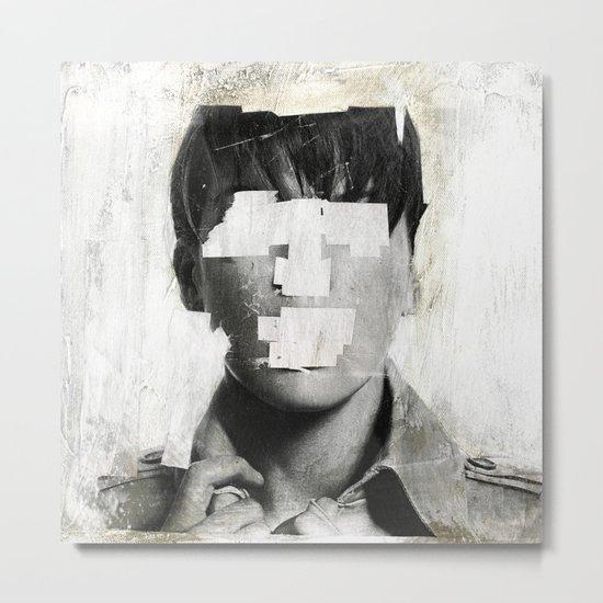 Faceless   number 02 Metal Print