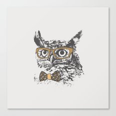 Hipsters are a Hoot Canvas Print