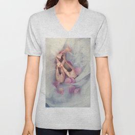 Ballet Shoes Unisex V-Neck