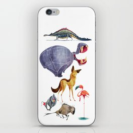 African animals 3 iPhone Skin