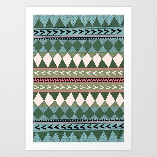 Native Forest Art Print