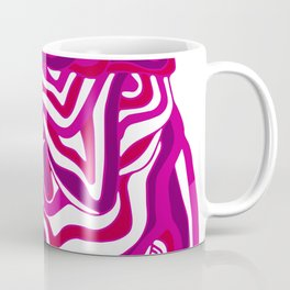 Orbs, psychedelic festival purple Coffee Mug