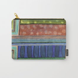 The Blue Balustrade  Carry-All Pouch