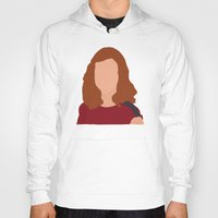 himym Hoodies featuring Lily Aldrin HIMYM by Rosaura Grant