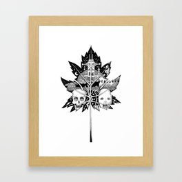 The Fallen Leaf Framed Art Print