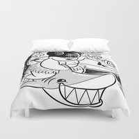 hawaii Duvet Covers featuring Hawaii by TokyoCandies