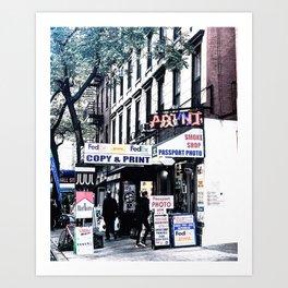 PRINT_NYC Art Print