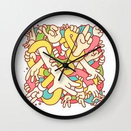 Hand Study Wall Clock