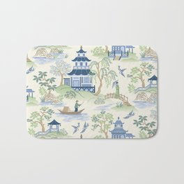 Chinoiserie Bath Mat