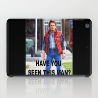 marty mcfly iPad Cases featuring MARTY by Dora Birgis