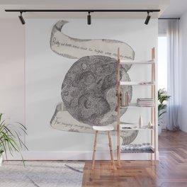The Secret Moon  Wall Mural
