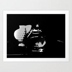 Hearts in the Dark Art Print