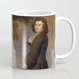 """Sir Joshua Reynolds """"Thomas and Martha Neate with His Tutor, Thomas Needham"""" Coffee Mug"""