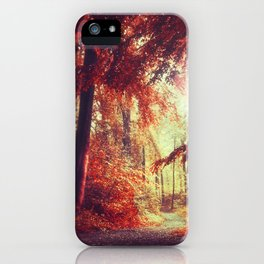 red woods iPhone Case