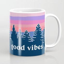 Good Vibes Sunset Coffee Mug