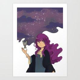 UAE x RPG - Sorceress Art Print