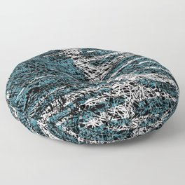 Textured brushstrokes - Sarah Bagshaw Floor Pillow