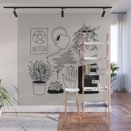Witchy Treasures Wall Mural