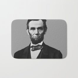 President Abraham Lincoln Bath Mat
