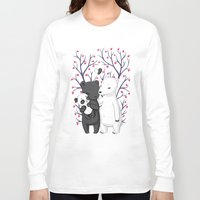 family Long Sleeve T-shirts featuring Bear Family by Freeminds