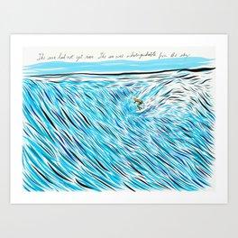 The Waves/ Dream Waves Art Print