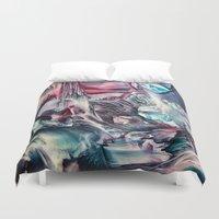 imagine Duvet Covers featuring Imagine  by ART de Luna
