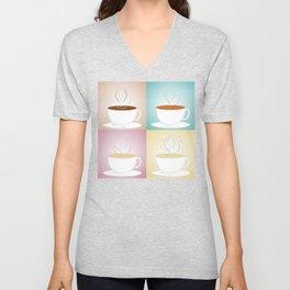 Tea Cups: Pu-erh, Blends, Blooming, Assorted Unisex V-Neck