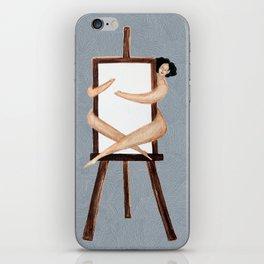 Easel Hugger iPhone Skin