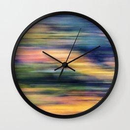 autumn blur Wall Clock