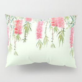 bottle brush tree flower Pillow Sham