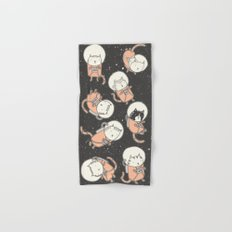 Cat-Stronauts Hand & Bath Towel