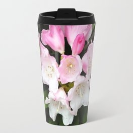 Pink Rhododendron in Spring Travel Mug