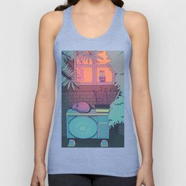 Ramune Cat Unisex Tank Top