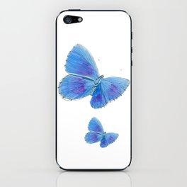 Adonis Blue Butterflies iPhone Skin