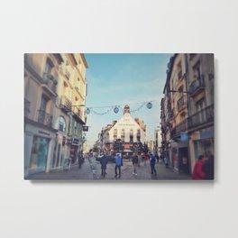 Dieppe Town Metal Print