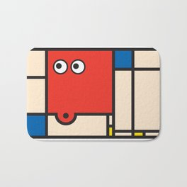 Ooh Zoo – art-series, Mondrian Bath Mat