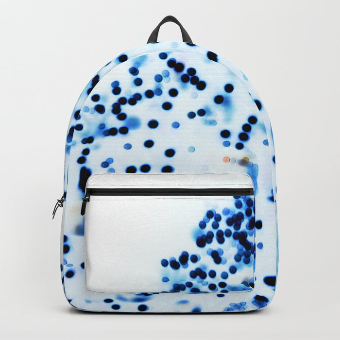Oh Christmas Tree, Oh Christmas Tree, blue and white Backpack