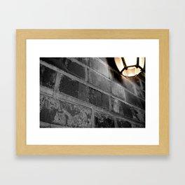 Don't Let the Light Go Out Framed Art Print