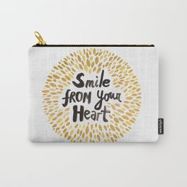 Smile From Your Heart Carry-All Pouch