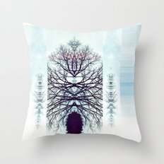 SymmeTREE Throw Pillow