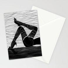 Oh la la - black & white Stationery Cards