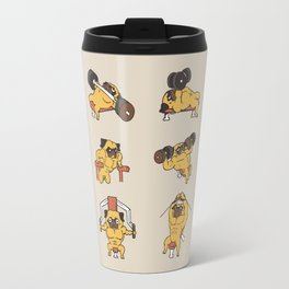 Chest Day with The Pug Travel Mug